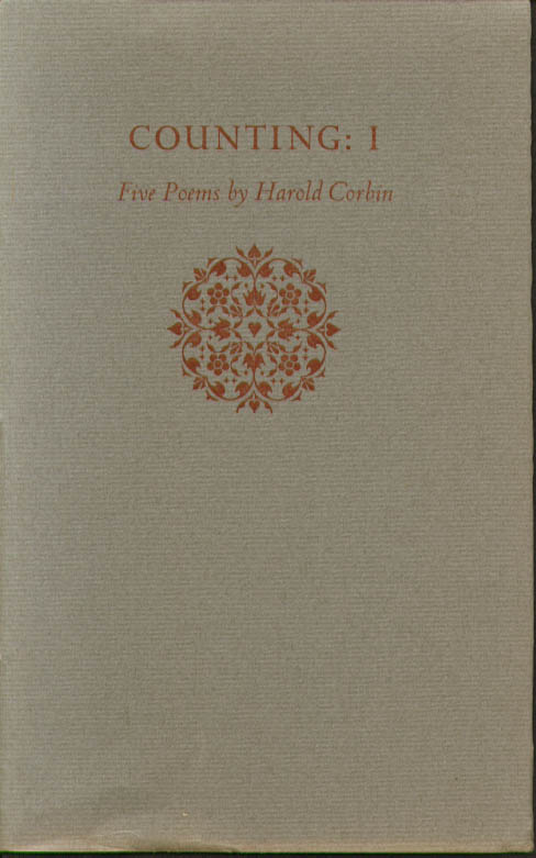 Harold Corbin: Counting: I. Three Ravens 1986 SIGNED