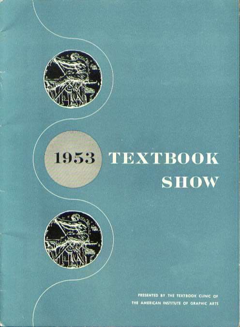 AIGA Textbook Show illustrated catalog 1953