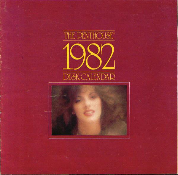 1982 Penthouse magazine Desk Calendar