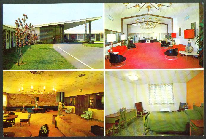 Wethersfield Manor Nursing Home CT postcard #1 1950s