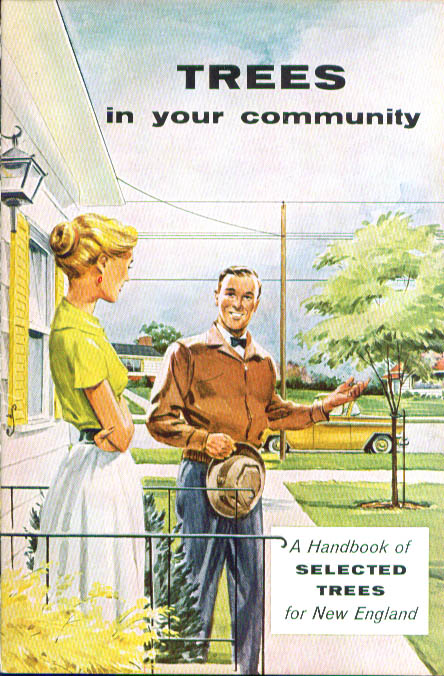 Handbook of Selected Trees in Your Community New England booklet 1950s