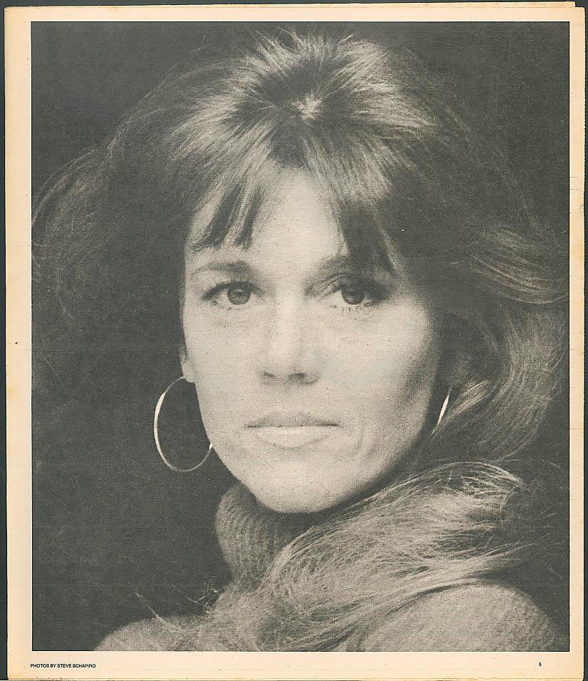 NEW YORK NEWS MAGAZINE Jane Fonda North Bronx sustains 11/28 1976
