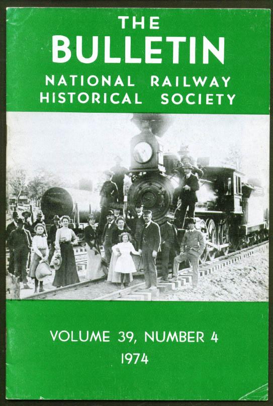 Image for Western RRs & National Parks NRHS Bulletin V39n4 1974