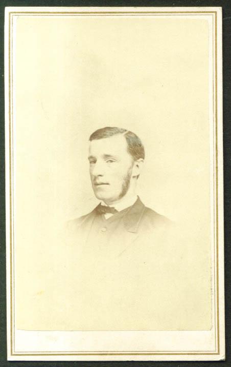 Robert A Brown CDV Moulthrop's: New Haven CT