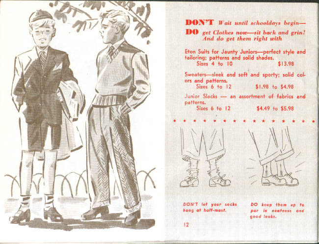 Dapper Dressing Back to School Wise Smith Hartford 40s