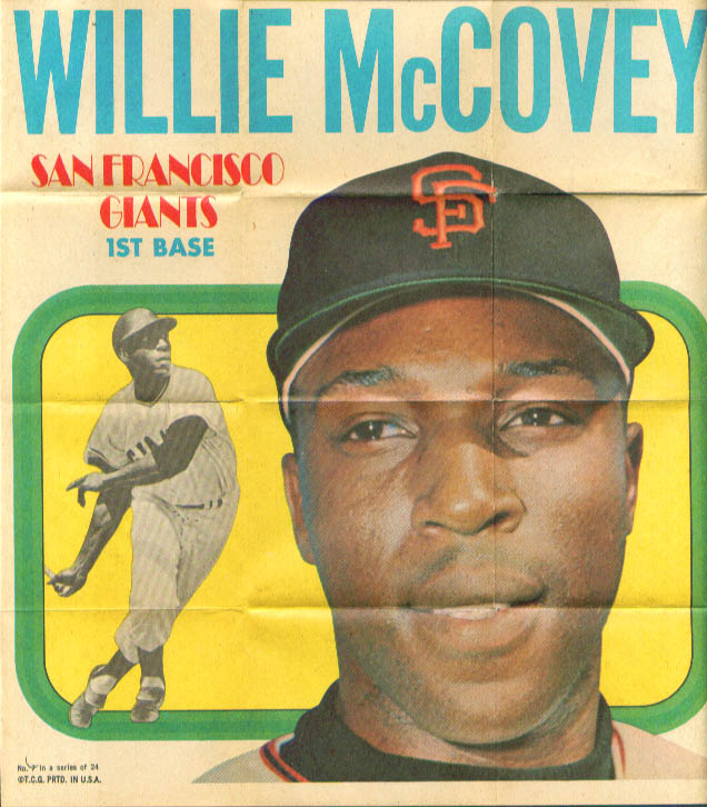 Willie McCovey 1970 Topps Poster #7