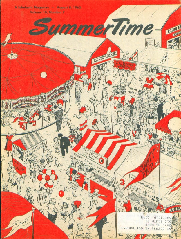 Sc-Fi Movie Gumdrop Astronauts Summertime 8/8/63
