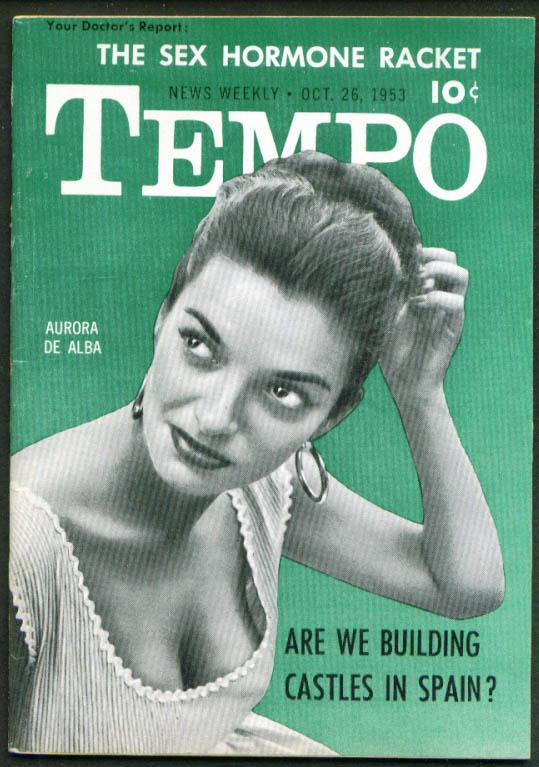 TEMPO Aurora De Alba Spain films Sex hormones 10/26 1953