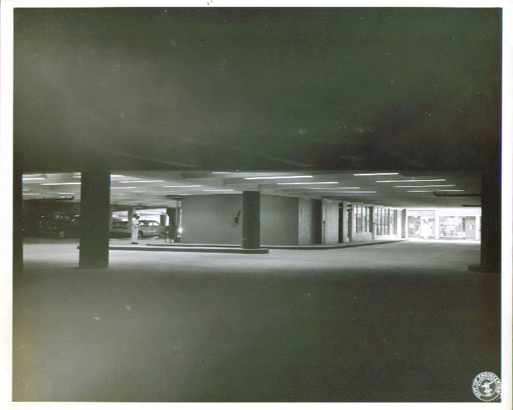 Constitution Plaza Parking Garage Hartford CT 8x10 1960s