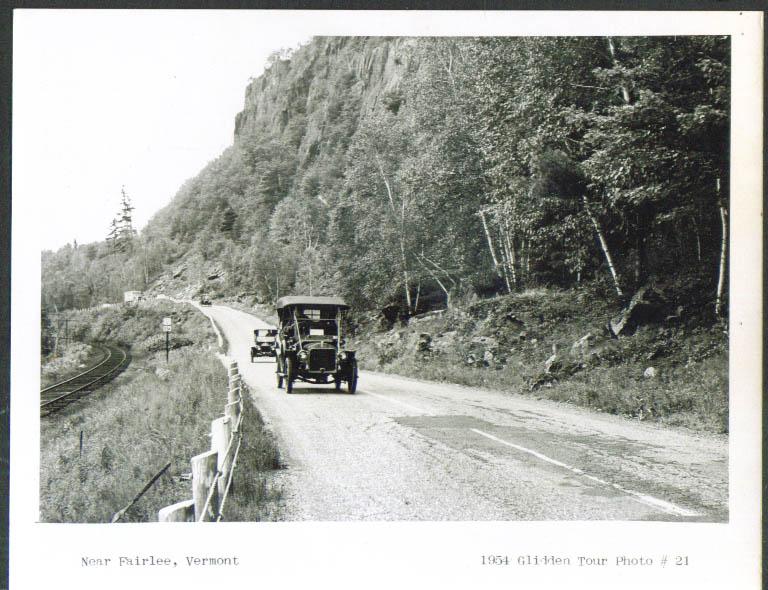 1906 Cadillac Fairlee VT Glidden Tour 1954 4x5