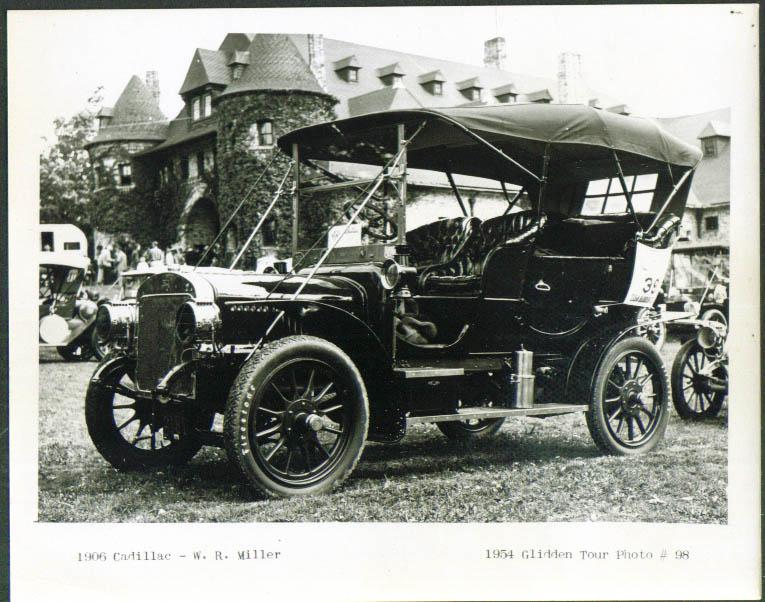 1906 Cadillac of W R Miller Glidden Tour 1954 4x5