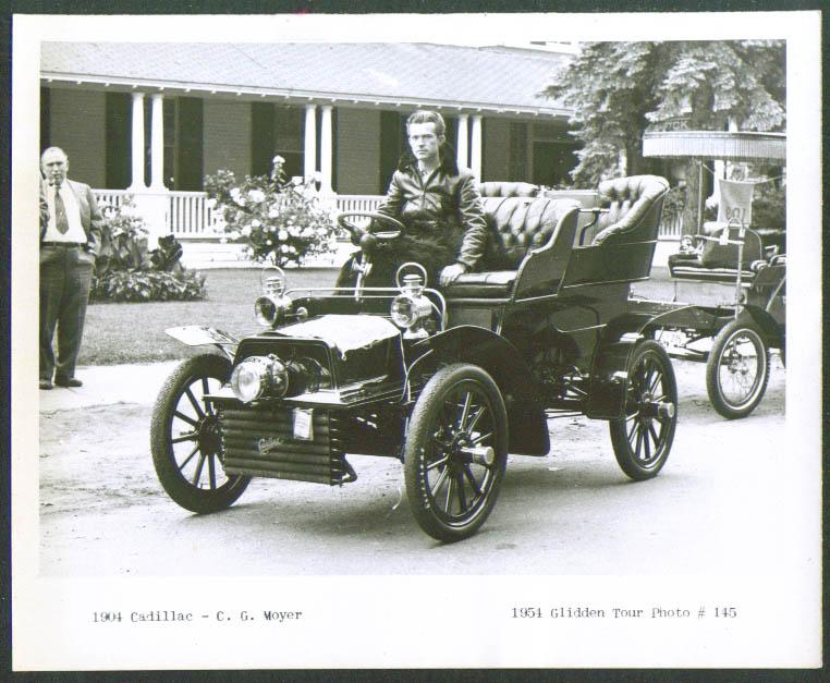 1904 Cadillac of C G Moyer Glidden Tour 1954 4x5