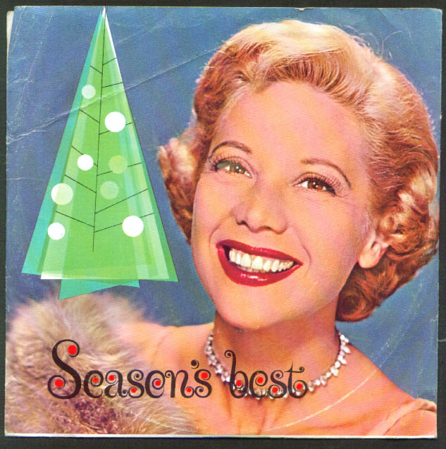 Dinah Shore Chevrolet Season's Best 33rpm record 1960