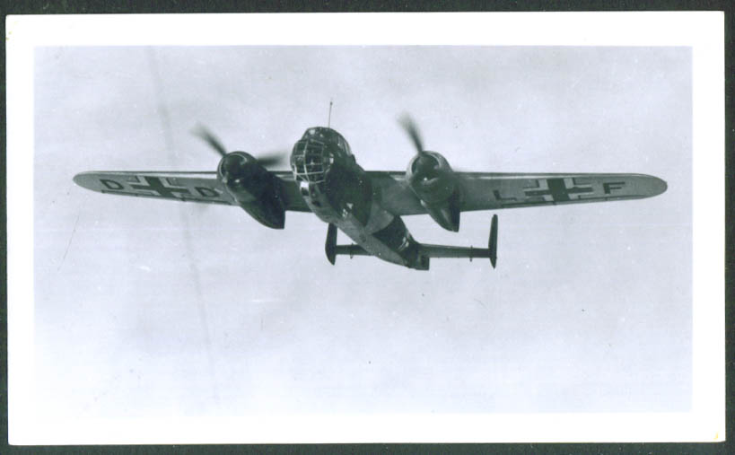 Dornier Do 217E-1 2-engine bomber photograph 1930s