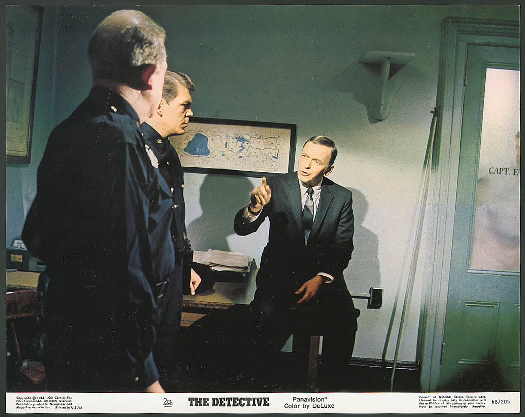 Image for Frank Sinatra The Detective lobby card 1968