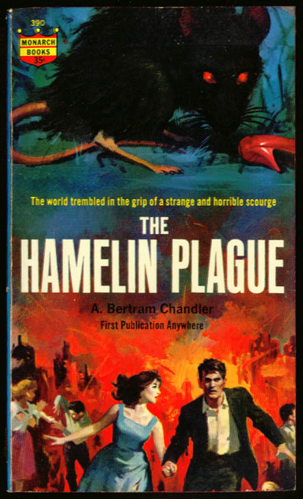 A Bertram Chandler Hamelin Plague pb 1st 1963