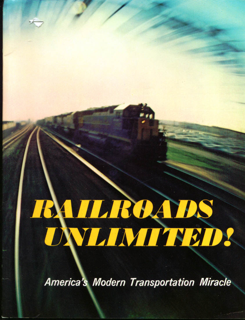 Railroads Unlimited! AAR brochure 1960s