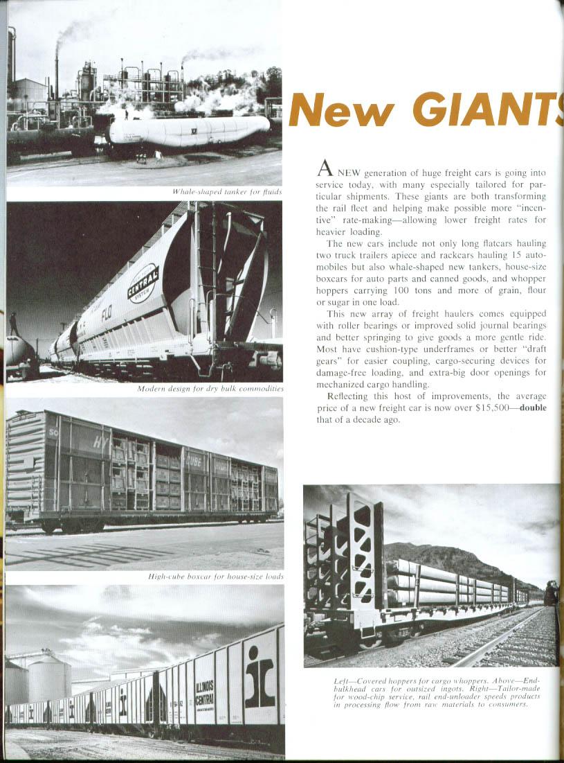 Railroads Unlimited! AAR brochure 1960s