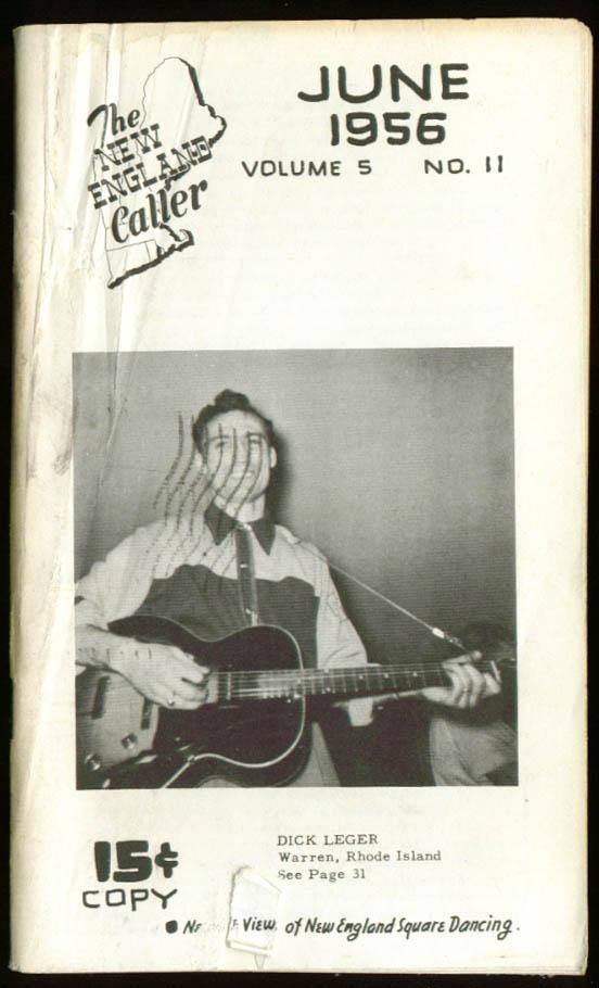 New England Caller Square Dance magazine 6/1956