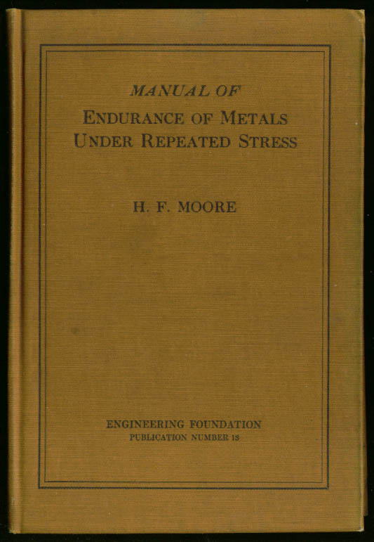 Endurance of Metals Under Repeated Stress book 1927