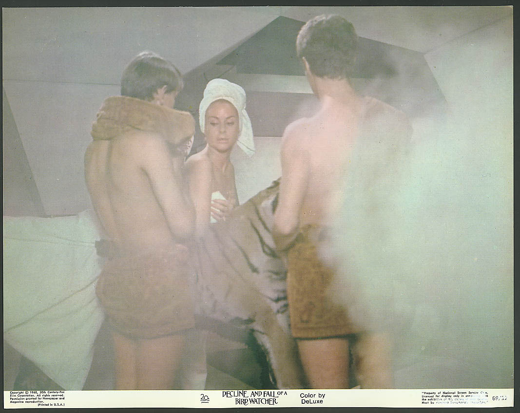 Image for Steam bath fun Decline & Fall of a Bird Watcher 1969