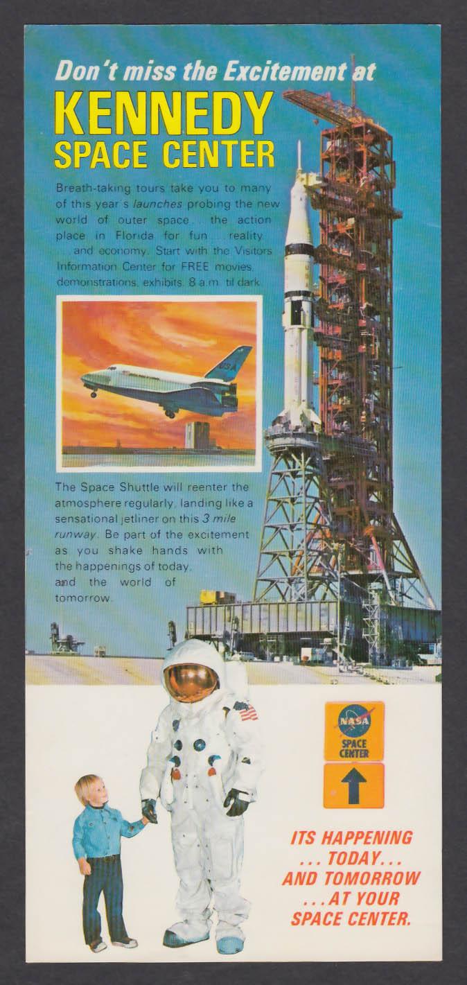 NASA John F Kennedy Space Center 1976 Souvenir Book + Ticket Stub + Pamphlet