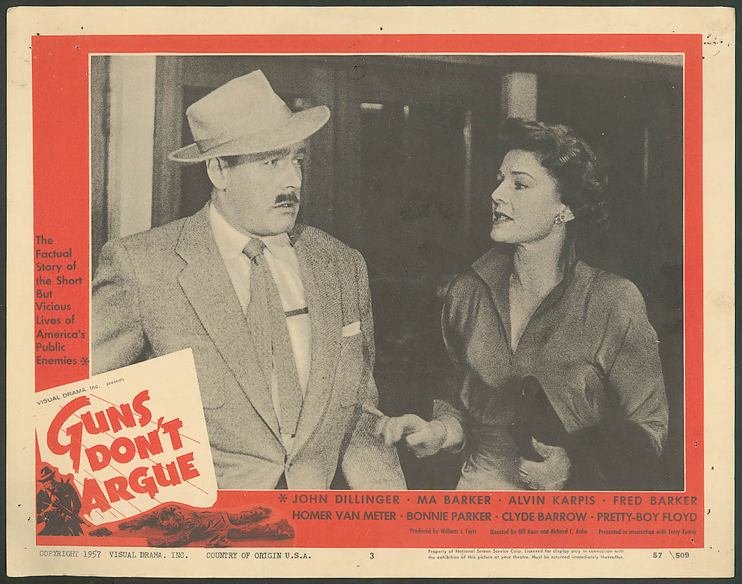 Image for Myron Healey ? Guns Dont Argue lobby card 1957