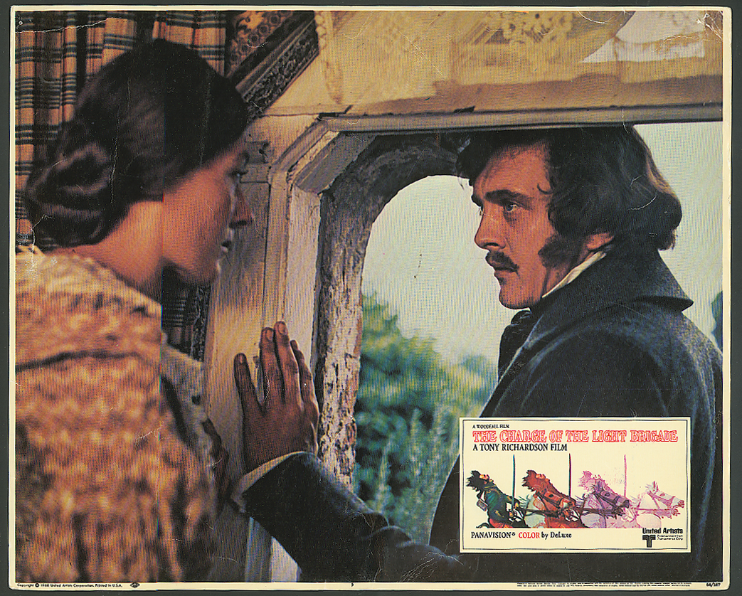 David Hemmings Charge of the Light Brigade lobby card 1968