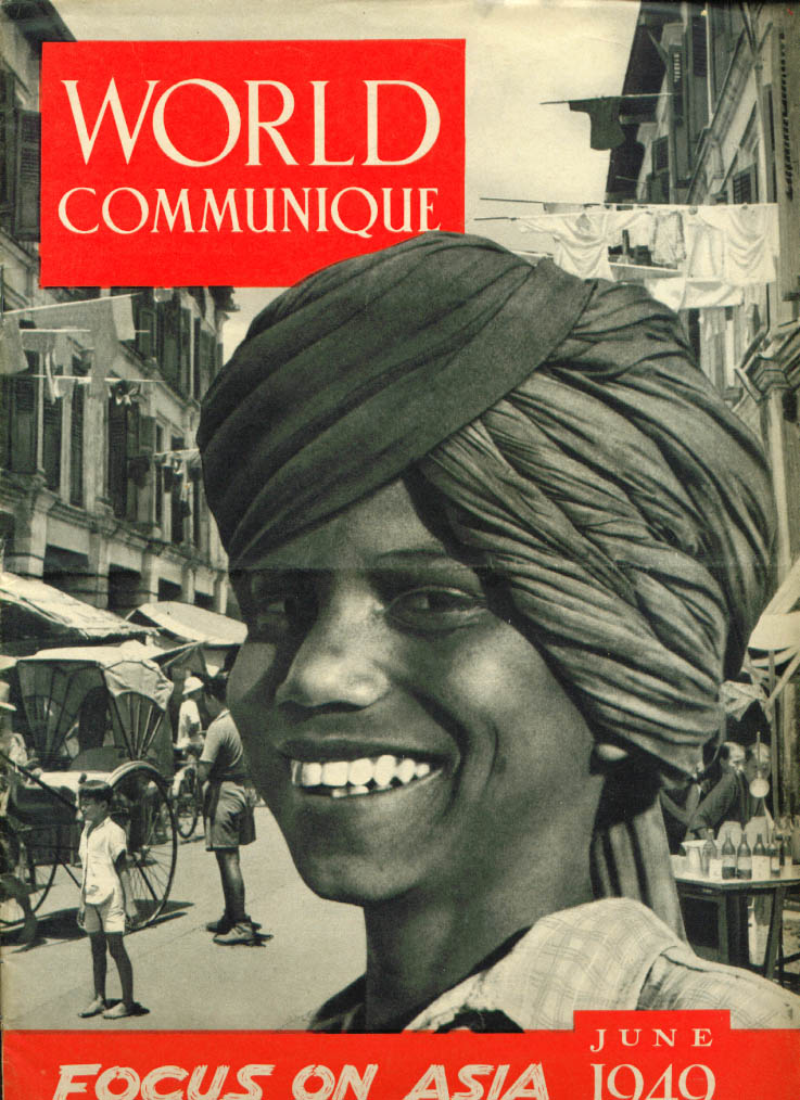 WORLD COMMUNIQUE Asia issue: YMCA 6 1949