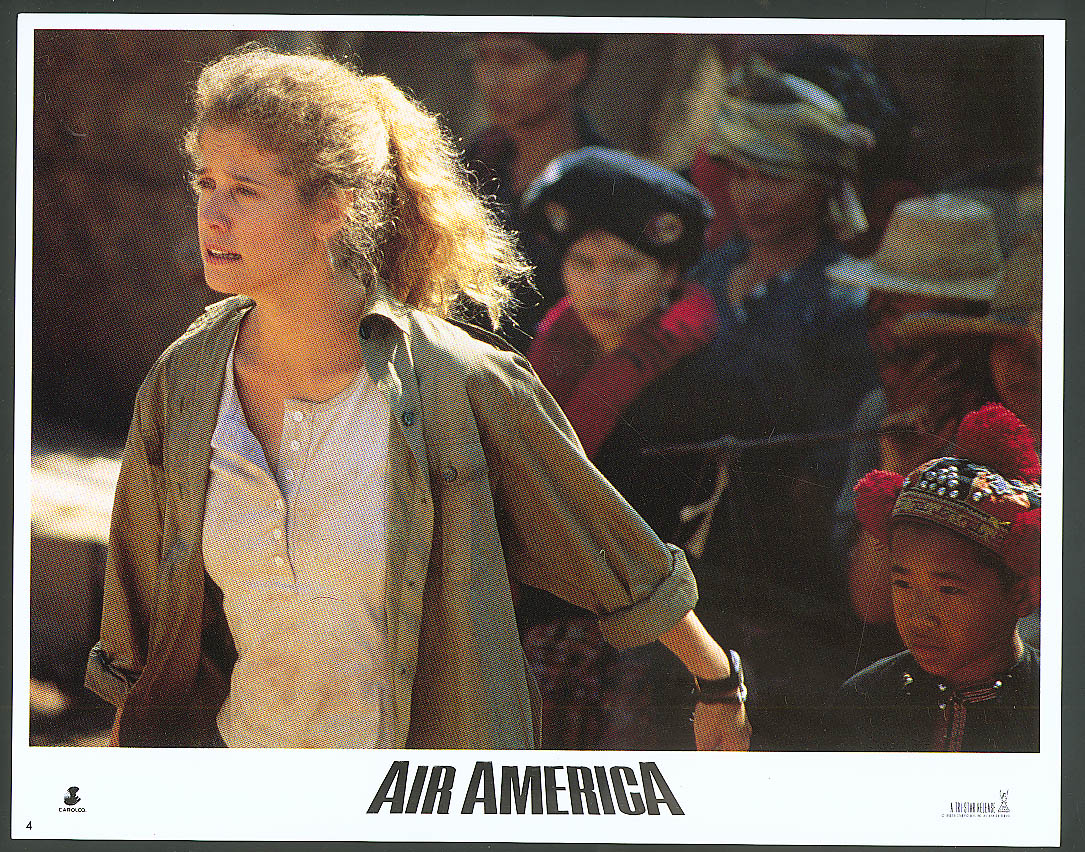 Image for Nancy Travis in Air America lobby card 1990