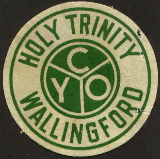 Holy Trinity CYO Wool Patch Wallingford CT 1920s