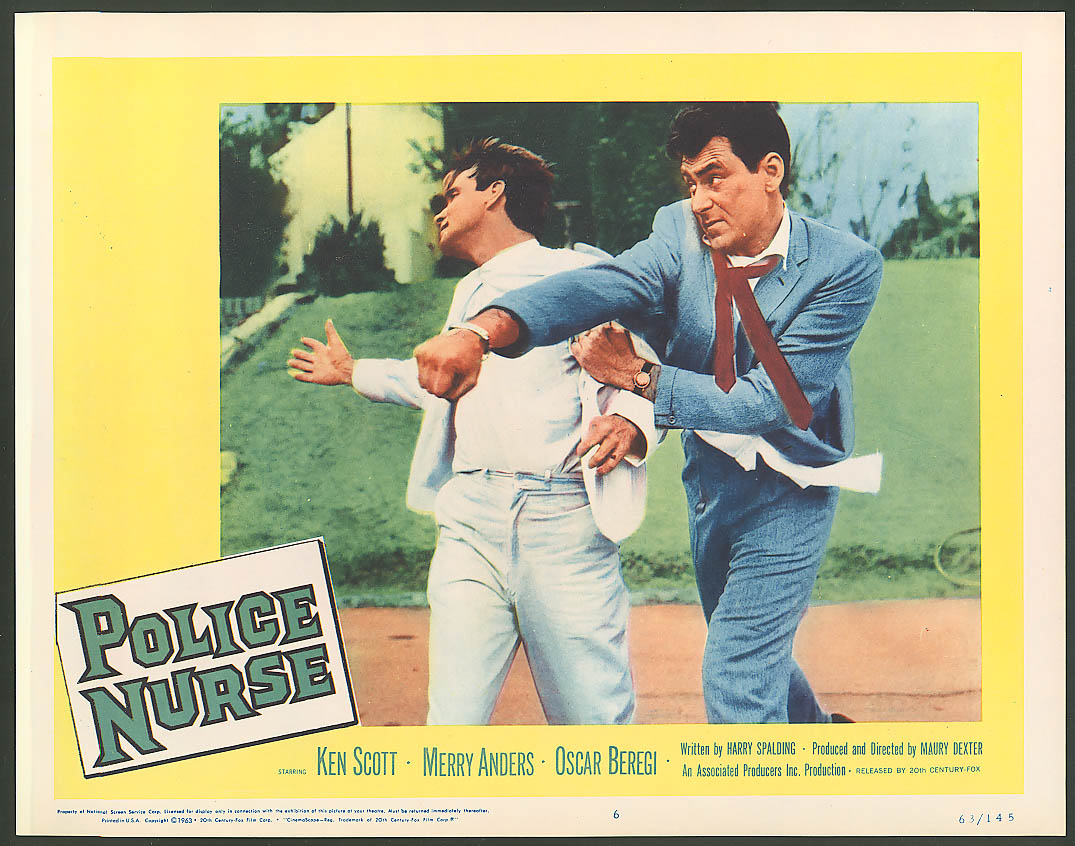 Image for Ken Scott in Police Nurse lobby card 1963