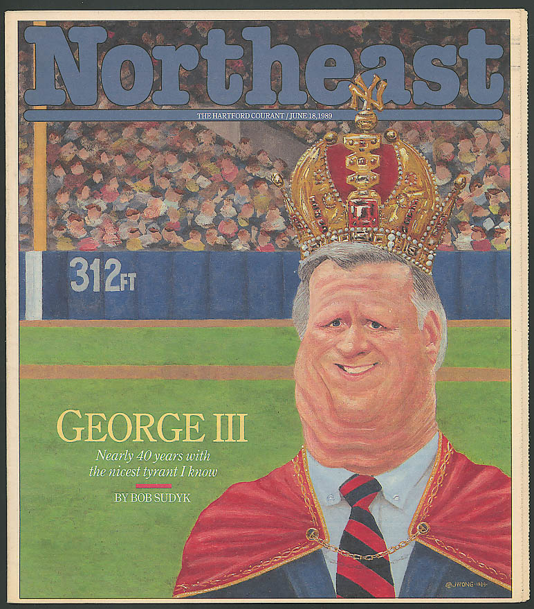 NORTHEAST George Steinbrenner NY Yankees 6/18 1989