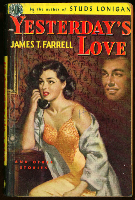 Image for Farrell: Yesterday's Love GGA pb negligee cleavage