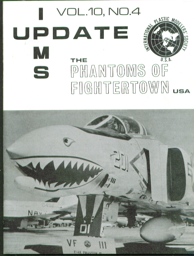 Fightertown F-4 variants J N B IPMS Update 4 1975