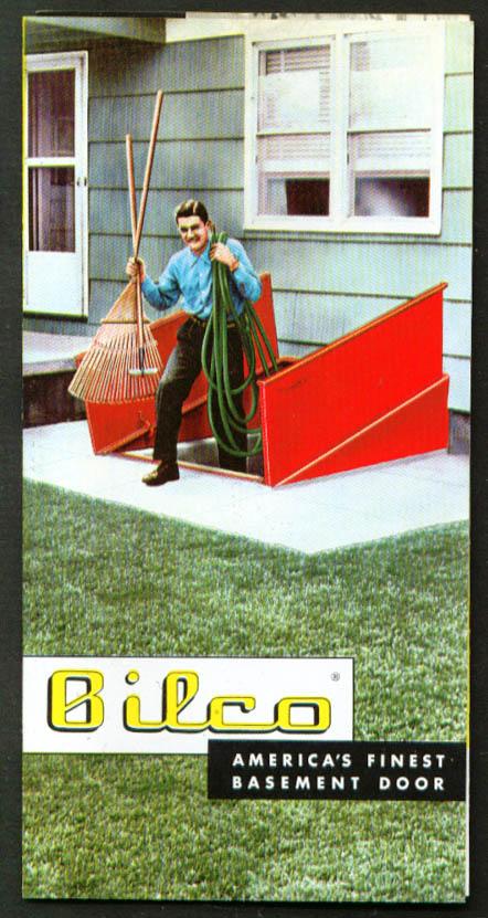 Bilco Steel Basement Hatchway Door folder 1954