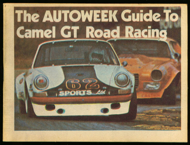 Camel GT Road Racing Autoweek Guide 1974