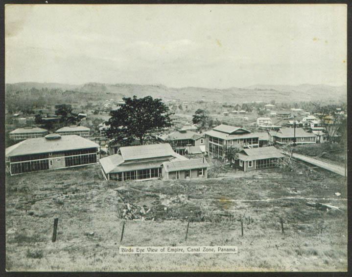 Bird's-eye View Empire Panama: Maduro card #79B 1910s