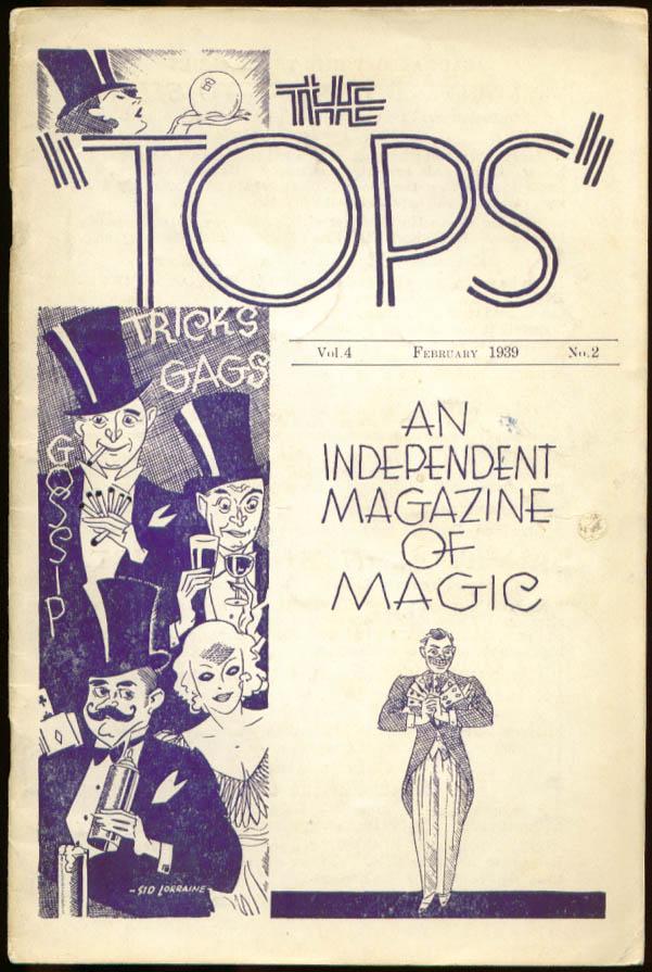 The TOPS Magic magazine 2/1939