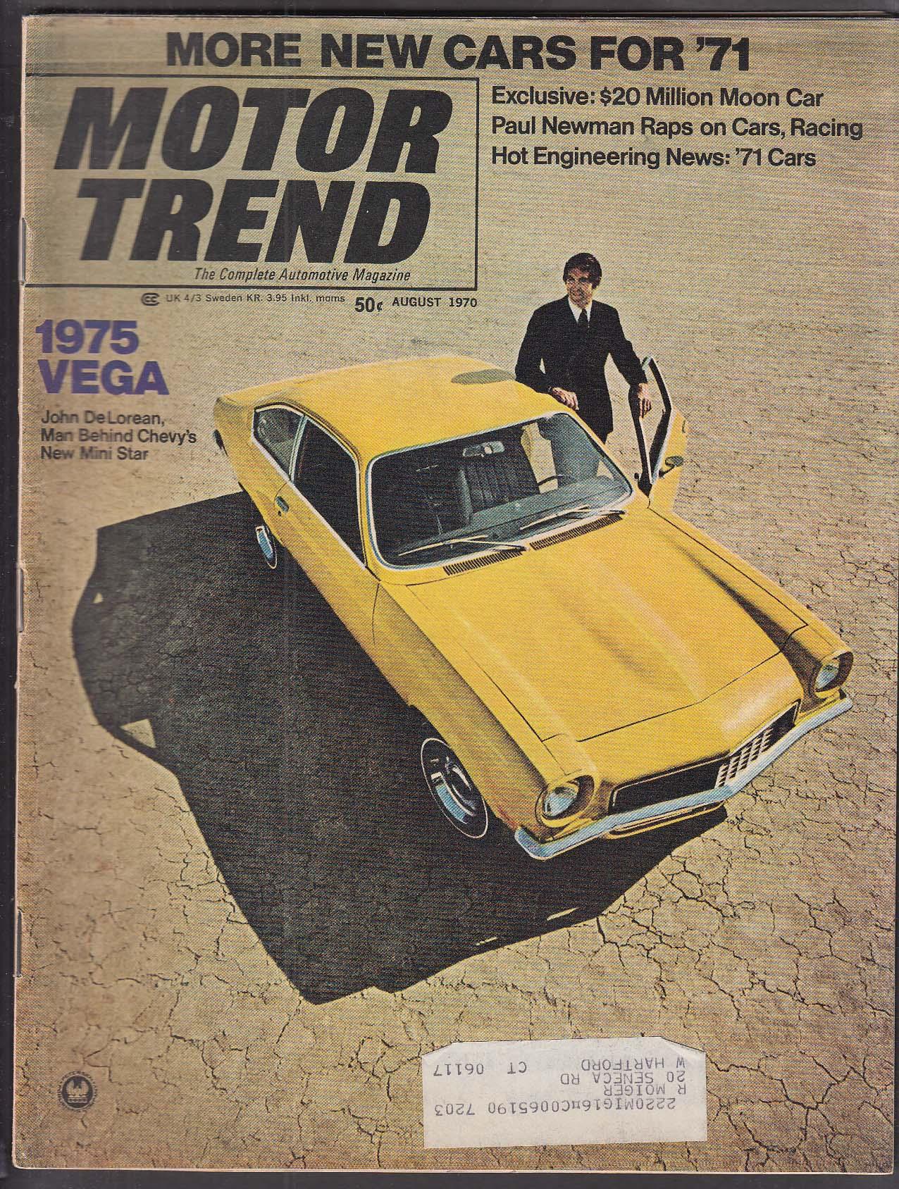 MOTOR TREND John DeLorean on Chevy Vega vs Pinto & Gremlin Paul ...