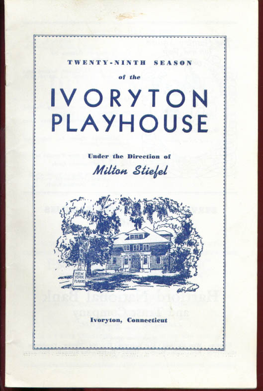 Don Ameche Holiday For Lovers Ivoryton Playhouse 1958