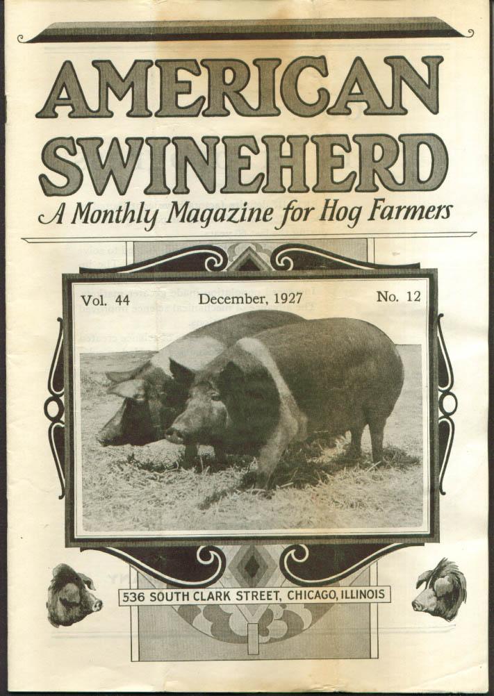 Peter Morkeberg : American Swineherd 12 1927