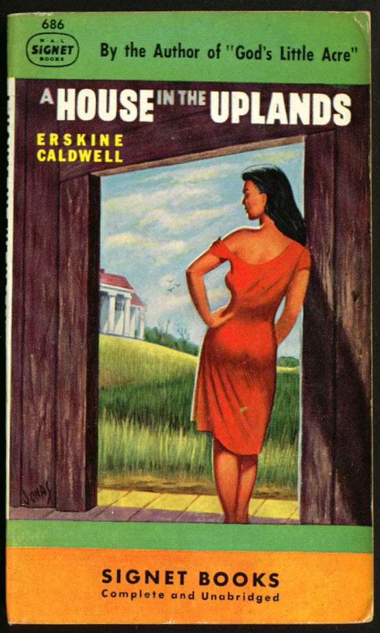 Image for Erskine Caldwell House in the Uplands GGA pb red dress