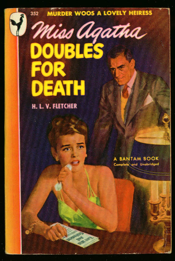Fletcher Miss Agatha Doubles for Death GGA pb cleavage