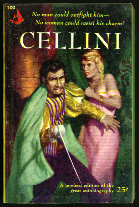 Autobiography of Cellini GGA pb blonde braid cleavage