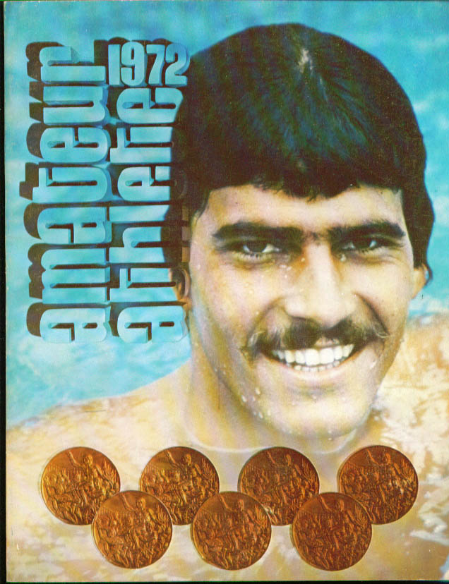 AAU Amateur Athletes Yearbook 1972 Mark Spitz