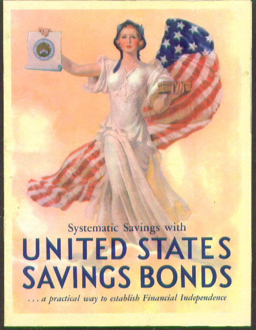 United States Savings Bonds Systematic Savings booklet 1930s