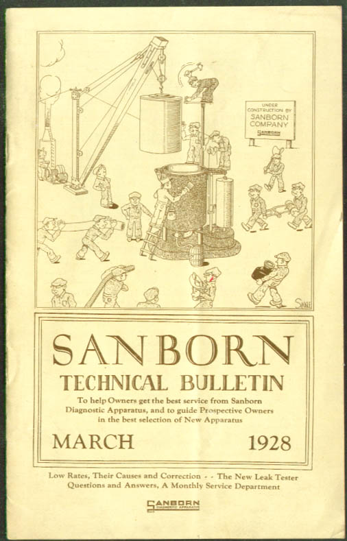 Sanborn Diagnostic Apparatus Tech Bulletin 3 1928
