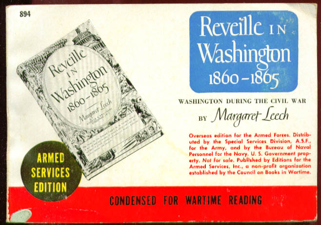 ASE 894 Margaret Leech Reveille in Washington