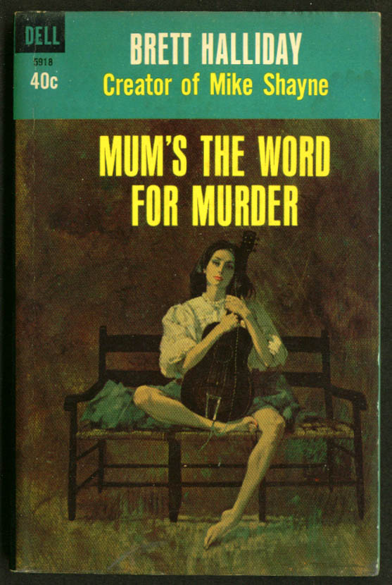 Image for Halliday Mum's The Word for Murder GGA pb girl guitar